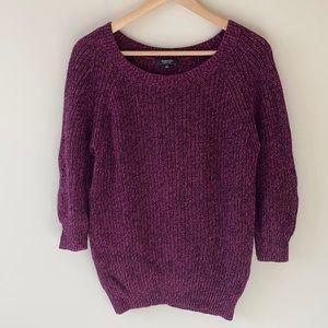 Aritzia Babaton Silk & Linen Pullover